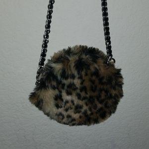 Girls Cheetah Purse